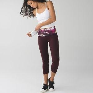 Lululemon Wunder Under Leggings Purple Size 8